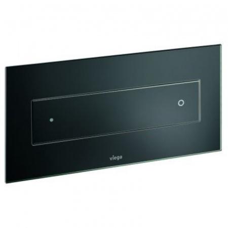 Viega Visign for Style 12 Płytka uruchamiająca do WC, szkło barwione/czarny 8332.4 / 645 168