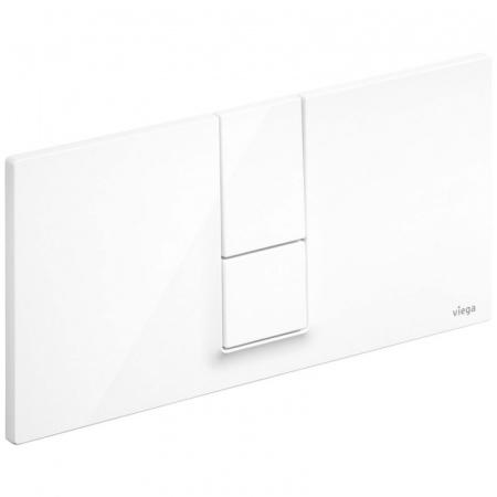 Viega Visign for Style 14 Płytka uruchamiająca do WC, biały alpejski 8334.1 / 654 689