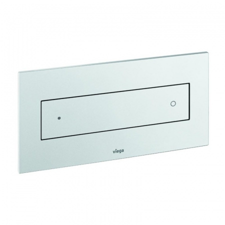 Viega Visign for Style 12 Płytka uruchamiająca do WC, szkło przejrzyste/jasno-szary 8332.4 / 645 151