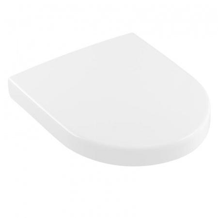 Villeroy & Boch Architectura Deska sedesowa zwykła Compact krótka, biała Weiss Alpin 9M66E101