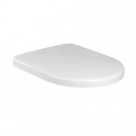 Villeroy & Boch Architectura Deska sedesowa wolnoopadająca Compact krótka, biała Weiss Alpin 9M66S201