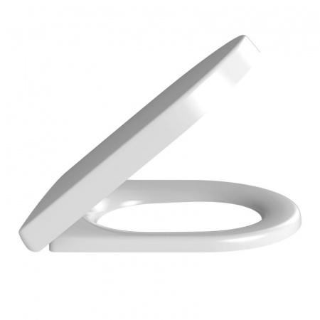 Villeroy & Boch Architectura Deska sedesowa zwykła, biała Weiss Alpin 98M9D101