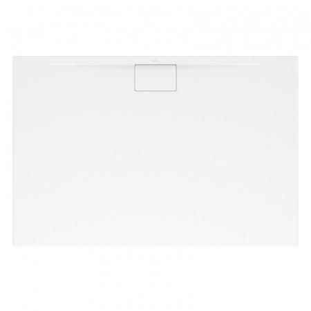 Villeroy & Boch Architectura MetalRim Brodzik prostokątny 120x80x4,8 cm z akrylu, biały Weiss Alpin UDA1280ARA248V-01