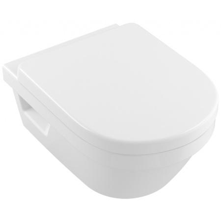 Villeroy & Boch Architectura XL Toaleta WC podwieszana 41x58 cm DirectFlush bez kołnierza wewnętrznego, z powłoką CeramicPlus, biała Weiss Alpin 4688R0R1