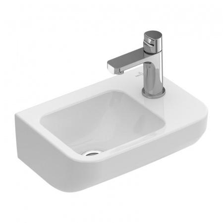 Villeroy & Boch Architectura Umywalka mała wisząca 36x26 cm bez przelewu, biała Weiss Alpin 43733701