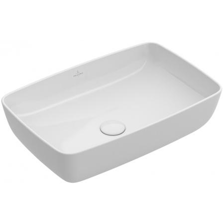 Villeroy & Boch Artis Umywalka nablatowa 58x38 cm bez przelewu, biała Weiss Alpin CeramicPlus 417258R1