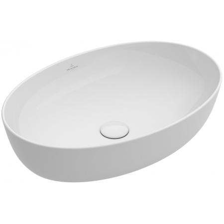Villeroy & Boch Artis Umywalka nablatowa bez przelewu 61x41 cm, biała Weiss Alpin CeramicPlus 419861R1