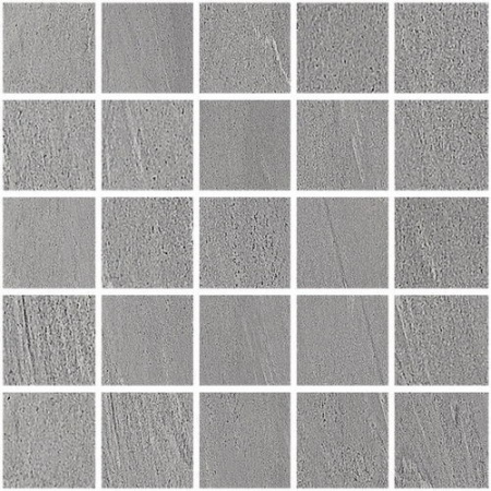 Villeroy & Boch Aspen Mozaika 5x5 cm rektyfikowana VilbostonePlus, ciemnoszara Dark Grey 2700VQ9M