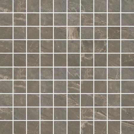 Villeroy & Boch Astoria Mozaika 3,5x3,5 cm rektyfikowana VilbostonePlus, brązowa Brown 2032JR80