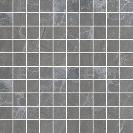 Villeroy & Boch Astoria Mozaika 3,5x3,5 cm rektyfikowana  VilbostonePlus, ciemnoszara Dark Grey 2032JR90