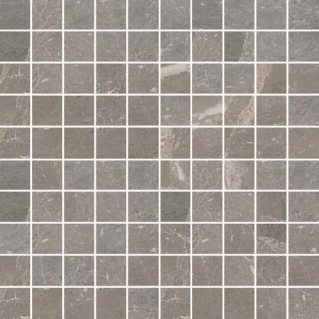 Villeroy & Boch Astoria Mozaika 3,5x3,5 cm rektyfikowana  VilbostonePlus, szarobeżowa Greige 2032JR70