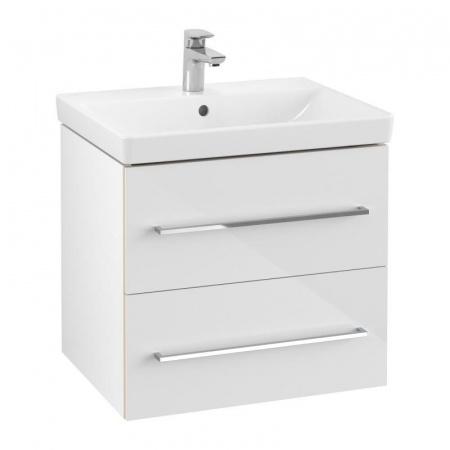 Villeroy & Boch Avento Szafka podumywalkowa 58x45,2 cm biała crystal white A88900B4