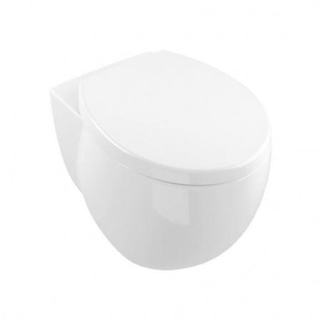 Villeroy & Boch Aveo New Generation Toaleta WC stojąca 41x56 cm lejowa, z powłoką CeramicPlus, biała Weiss Alpin 661310R1
