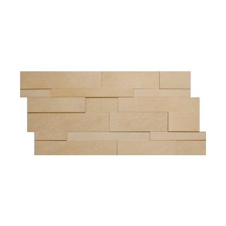 Villeroy & Boch Bernina Dekor ścienny 29x59 cm rektyfikowany VilbostonePlus, beżowy beige 2416RT1M