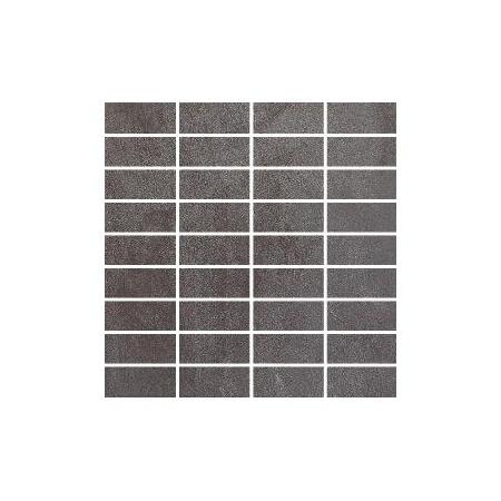 Villeroy & Boch Bernina Mozaika 3,3x7,5 cm rektyfikowana VilbostonePlus, antracytowa anthracite 2411RT2M