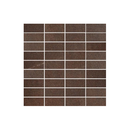 Villeroy & Boch Bernina Mozaika 3,3x7,5 cm rektyfikowana VilbostonePlus, brązowa brown 2411RT6M
