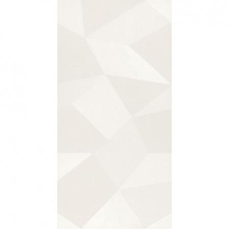 Villeroy & Boch BiancoNero Dekor 30x60 cm rektyfikowany, biały white 1581BW02