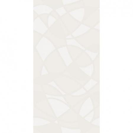 Villeroy & Boch BiancoNero Dekor 30x60 cm rektyfikowany, biały white 1581BW08