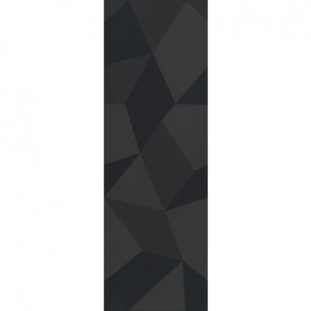 Villeroy & Boch BiancoNero Dekor 30x90 cm rektyfikowany Ceramicplus, czarny black 1310BW92
