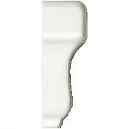 Villeroy & Boch BiancoNero Płytka narożna, biały white 1505NE00