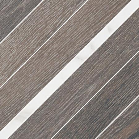 Villeroy & Boch Halston Dekor podłogowy 30x30 cm rektyfikowany Vilbostoneplus, brązowy tobacco 2383PC60