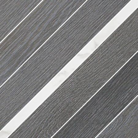 Villeroy & Boch Halston Dekor podłogowy 30x30 cm rektyfikowany Vilbostoneplus, czarny coal black 2383PC90