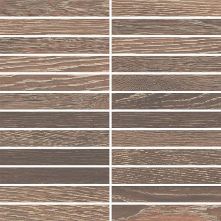 Villeroy & Boch Halston Płytka podłogowa 2,5x15 cm rektyfikowana Vilbostoneplus, brązowa brown 2135PC8V