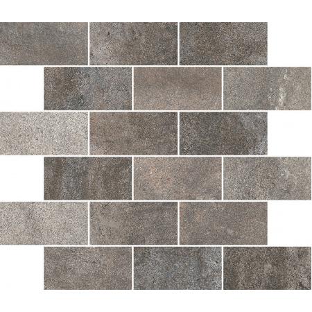 Villeroy & Boch Cadiz Płytka podłogowa 5x10 cm rektyfikowana Vilbostoneplus, szara multikolor grey multicolor 2037BU7M