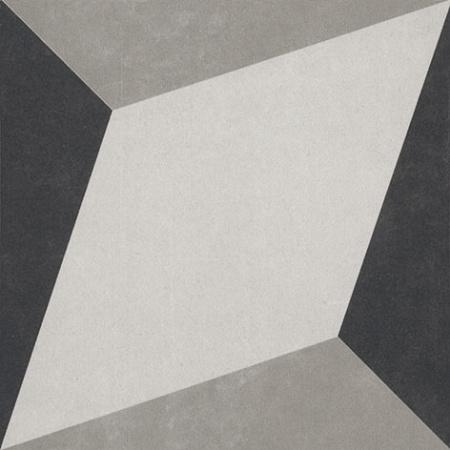 Villeroy & Boch Century Unlimited Dekor diamenty podłogowy i ścienny 20x20 cm rektyfikowany, szary grey 2634CF9J
