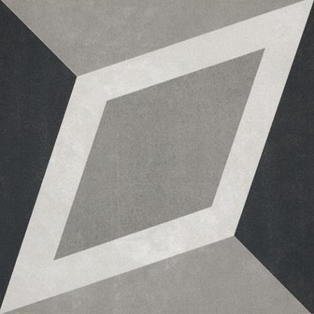 Villeroy & Boch Century Unlimited Dekor diamenty podłogowy i ścienny 20x20 cm rektyfikowany, szary grey 2634CF9K