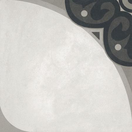 Villeroy & Boch Century Unlimited Dekor koła podłogowy i ścienny 20x20 cm rektyfikowany, szary grey 2634CF9G