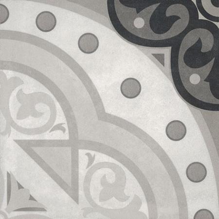 Villeroy & Boch Century Unlimited Dekor koła podłogowy i ścienny 20x20 cm rektyfikowany, szary grey 2634CF9H