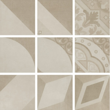 Villeroy & Boch Century Unlimited Dekor podłogowy 20x20 cm rektyfikowany, multikolor multicolour warm 2634CF1P