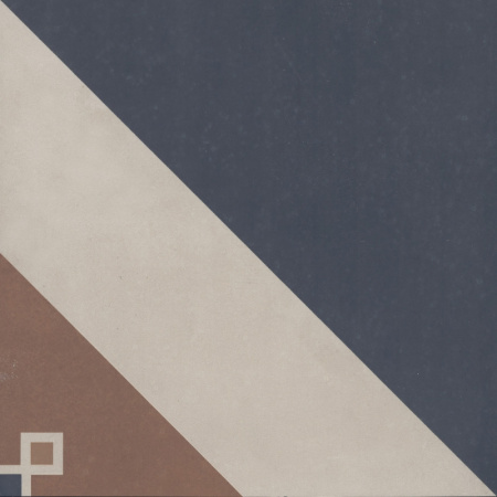 Villeroy & Boch Century Unlimited Dekor trójkąty podłogowy i ścienny 20x20 cm rektyfikowany, multikolor multicolour colorful 2634CF4C