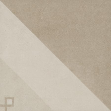 Villeroy & Boch Century Unlimited Dekor trójkąty podłogowy i ścienny 20x20 cm rektyfikowany, multikolor multicolour warm 2634CF1C