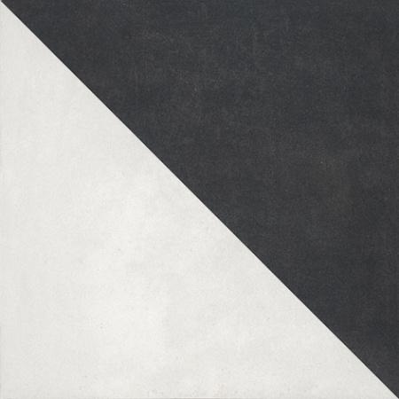 Villeroy & Boch Century Unlimited Dekor trójkąty podłogowy i ścienny 20x20 cm rektyfikowany, szary grey 2634CF9A