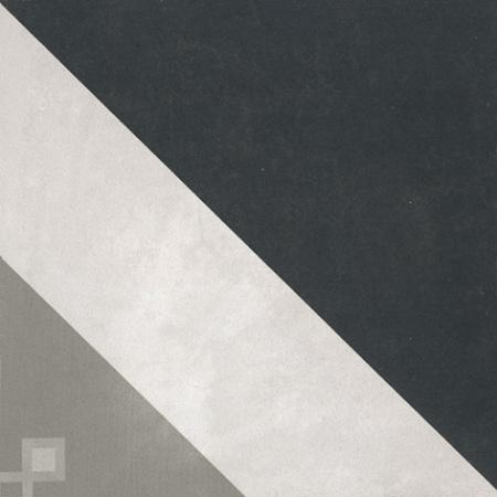 Villeroy & Boch Century Unlimited Dekor trójkąty podłogowy i ścienny 20x20 cm rektyfikowany, szary grey 2634CF9C
