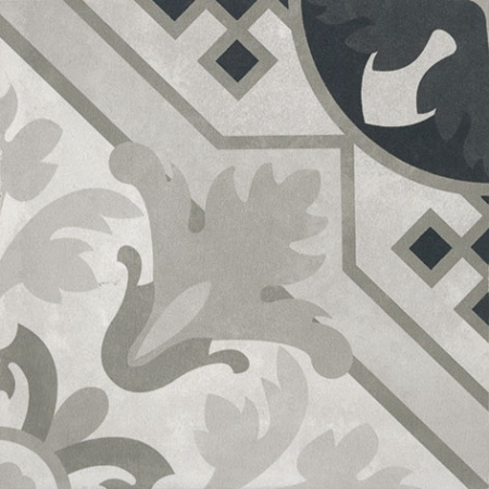 Villeroy & Boch Century Unlimited Dekor trójkąty podłogowy i ścienny 20x20 cm rektyfikowany, szary grey 2634CF9D