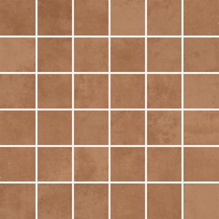 Villeroy & Boch Century Unlimited Excellence Mozaika podłogowa 5x5 cm rektyfikowana VilbostonePlus, brązowa cotto 2030CF30