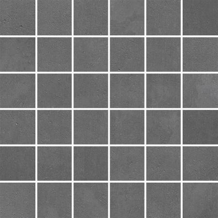Villeroy & Boch Century Unlimited Excellence Mozaika podłogowa 5x5 cm rektyfikowana VilbostonePlus, ciemnoszara medium grey 2030CF62