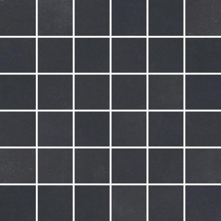 Villeroy & Boch Century Unlimited Excellence Mozaika podłogowa 5x5 cm rektyfikowana VilbostonePlus, czarna black 2030CF91