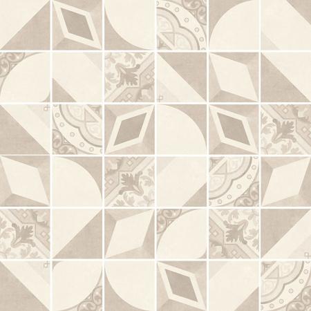Villeroy & Boch Century Unlimited Excellence Mozaika podłogowa 5x5 cm rektyfikowana VilbostonePlus, kremowa creme 2030CF28