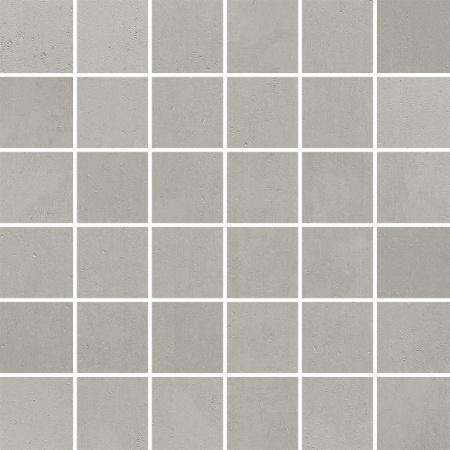Villeroy & Boch Century Unlimited Excellence Mozaika podłogowa 5x5 cm rektyfikowana VilbostonePlus, średnioszara ciemnoszara medium grey 2030CF61