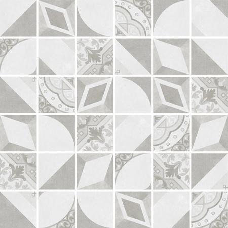Villeroy & Boch Century Unlimited Excellence Mozaika podłogowa 5x5 cm rektyfikowana VilbostonePlus, szara grey 2030CF68