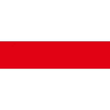 Villeroy & Boch Colorvision Bordiura 5x20 cm, czerwona volcano red 1222B506