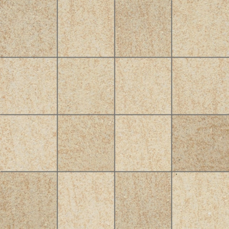 Villeroy & Boch Crossover Mozaika podłogowa 7,5x7,5 cm rektyfikowana Vilbostoneplus, beżowa beige 2625OS1L