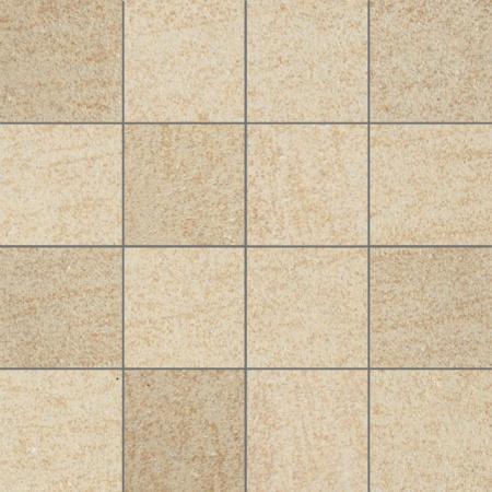 Villeroy & Boch Crossover Mozaika podłogowa 7,5x7,5 cm rektyfikowana Vilbostoneplus, beżowa beige 2625OS1M
