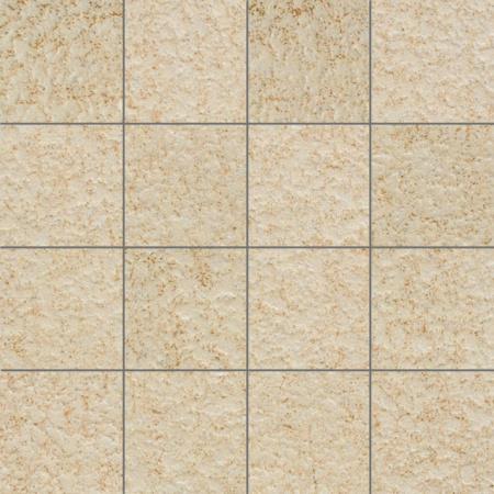 Villeroy & Boch Crossover Mozaika podłogowa 7,5x7,5 cm rektyfikowana Vilbostoneplus, beżowa beige 2627OS1R