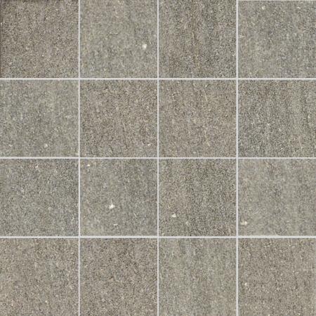 Villeroy & Boch Crossover Mozaika podłogowa 7,5x7,5 cm rektyfikowana Vilbostoneplus, szara grey 2625OS6M