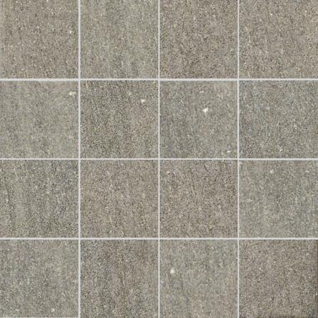 Villeroy & Boch Crossover Mozaika podłogowa 7,5x7,5 cm rektyfikowana Vilbostoneplus, szara grey 2627OS6R